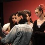Aiemo Left with Silence Music Video: Director Christophe Dolcerocca, Clara Medina, Mathilde Stephensen, and Allan Mutebi