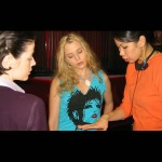 Basic Emotions: Director Georgia Lee, Lynn Marie Stetson (Alicia) and Annette Arnold (Dahlia)