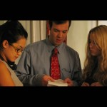 Basic Emotions: Director Julie Pham, Lynn Marie Stetson (Alicia) and Peter Russo (John)