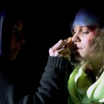 Cathrine Bjorn gets make up by Marianna Wassberg