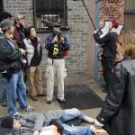 Color of a Doubt: an Urban Fable: Vincent Piazza (Chris Parker), Director Pornsak Pichetshote, Director Jason G. Lewis, Director of Photography Milton Kam
